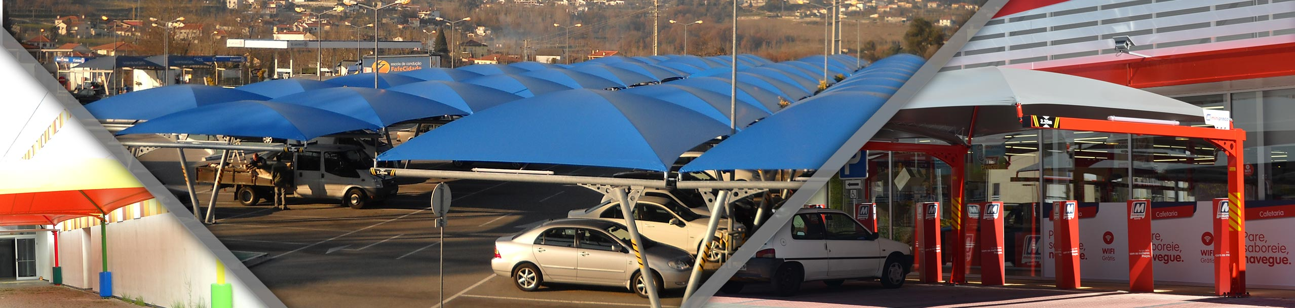 AWNINGS AND METALO-TEXTILE COVERS